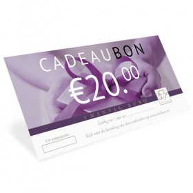 Luxe relatiegeschenken van Artihove - Cadeaubon 20 euro - 015127MAR