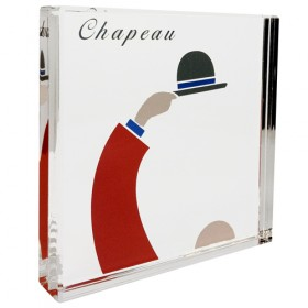 Luxe relatiegeschenken van Artihove - Chapeau presse papier - 017895MNFQ