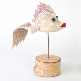 Luxe relatiegeschenken van Artihove - Scholten, vis paars - ILSM000004