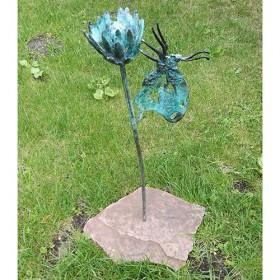 Luxe relatiegeschenken van Artihove - Kok, vlinder met bloem - KOKM400510