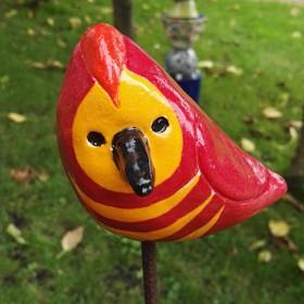 Luxe relatiegeschenken van Artihove - Kok, vogel oranje rood - KOKM400513