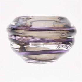 Luxe relatiegeschenken van Artihove - Loranto, vaas violet laag - LOR001037