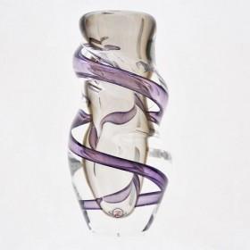 Luxe relatiegeschenken van Artihove - Loranto, vaas violet smal klein - LOR001038